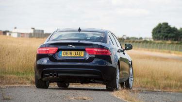 Jaguar XE AWD - rear cornering