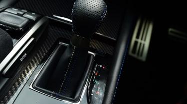 New Lexus GS F 2016 - gearlever