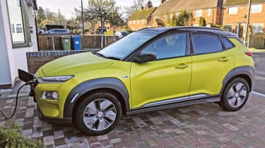 Hyundai Kona Electric long termer - charging