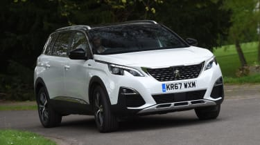 Peugeot 5008 long-term test - front