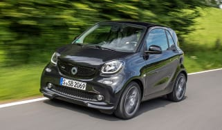 Smart ForTwo Brabus 2016 - front tracking