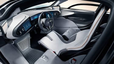 McLaren Speedtail - cabin