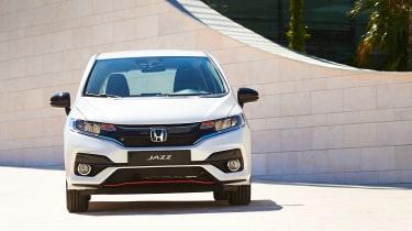 Honda Jazz facelift - full front