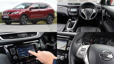 Nissan CONNECT infotainment system - test car: Nissan Qashqai