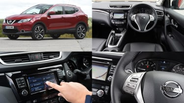 Nissan CONNECT infotainment system - test car: Nissan Qashqai