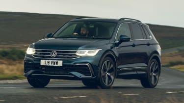 Volkswagen Tiguan 2021 petrol - front cornering