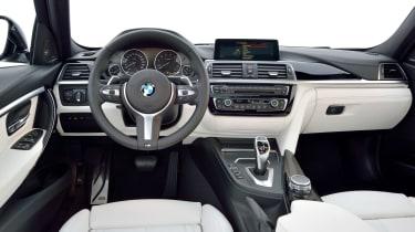 2015 BMW 3-Series facelift interior