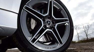 Mercedes CLS wheel