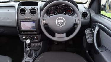 Dacia Duster - dash