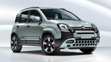 Fiat Panda hybrid - front