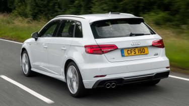 Used Audi A3 Mk3 - rear action