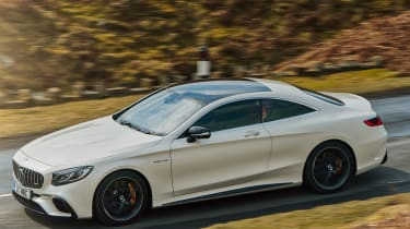 Mercedes-AMG S 63 Coupe - above action