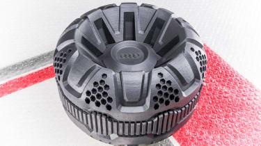 Car factory of the future - Moon rover wheel