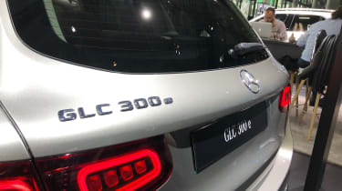 Mercedes GLC 300 e - boot