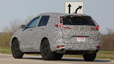 New Honda CR-V - spy shots - rear