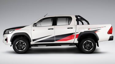 Toyota Hilux GR Sport - side