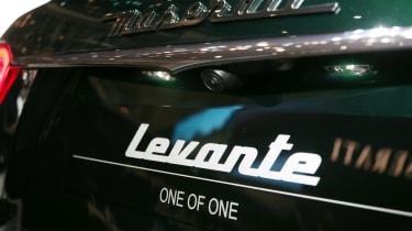 Maserati Levante One of One - rear badge