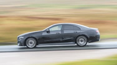 Mercedes CLS prototype - side action