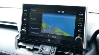 Toyota RAV4 - screen