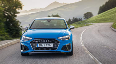 2019 Audi S4 saloon driving