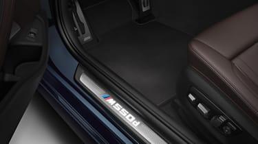 BMW M550d xDrive - sill