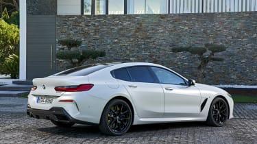 BMW 8 Series Gran Coupe - rear static