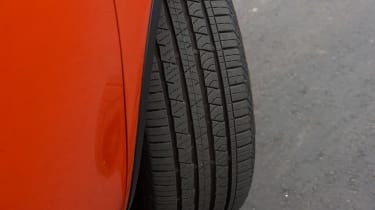 Land Rover Discovery Sport long-term - tyre detail