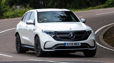 Mercedes EQC - front action