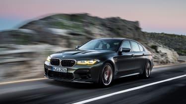 BMW M5 CS - front action