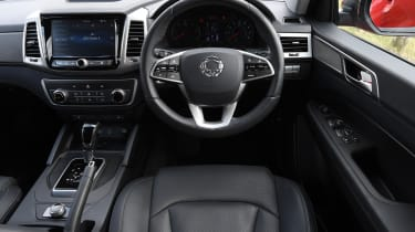 SsangYong Musso long term review - interior