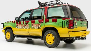 Petersen Automotive Museum - Ford Explorer Jurassic Park - rear static