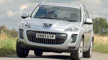 Best cheap 4x4s and SUVs - Peugeot 4007