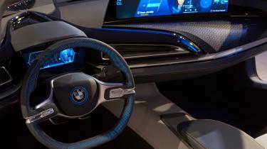 BMW i8 'iVision' concept CES 2016 interior