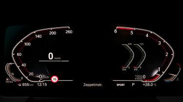 BMW 1 Series 2019 display