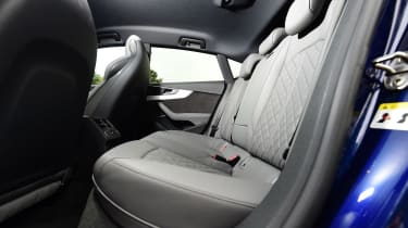 Audi S5 - rear seats