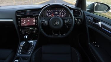vw golf r interior