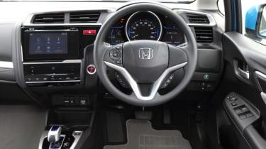 New Honda Jazz Hybrid interior