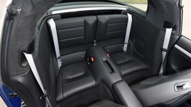 Porsche 911 Targa 2016 UK - rear seats
