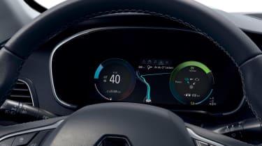 Renault Megane E-Tech - dials