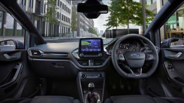 Ford Fiesta van - interior