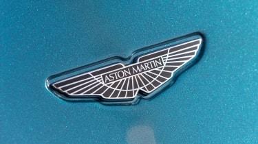 Aston Martin AM37S boat - badge