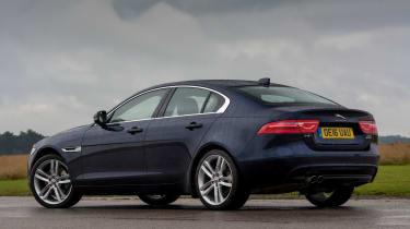 Jaguar XE - rear quarter