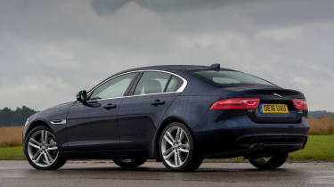 Jaguar XE - rear quarter