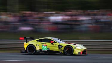 Aston Martin Vantage GTE - side