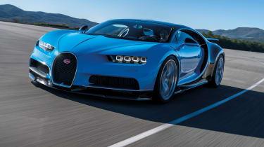 Bugatti Chiron 2016 - Dynamic Front