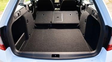Skoda Octavia Estate - boot seats down
