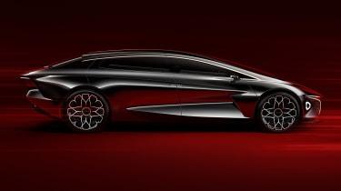 Aston Martin Lagonda Vision concept - side