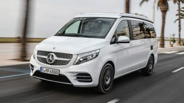 Mercedes V-Class Marco Polo - front tracking