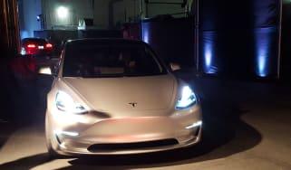Tesla Model 3 ride