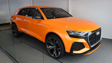 We first saw the Audi Q8 Sport Concept at the 2017 Geneva Motor Show, but it was also hard to miss at Goodwood.